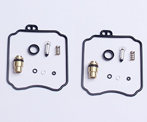 BH-Motor New 2x Carburetor Carb Repair Rebuild Kits For Yamaha XV250 Virago XVS650 V-Star 18-5171