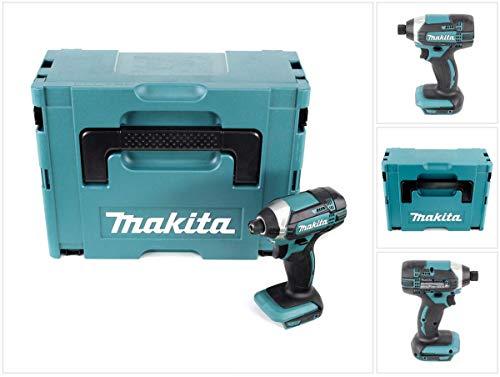 Makita DTD 152ZJ 18V atornillador de impacto (batería de ion de litio en Makpac–sin batería, sin cargador