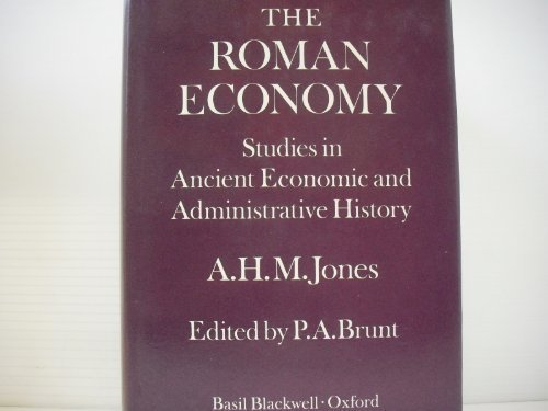 The Roman economy;: Studies in ancient economic and administrative history