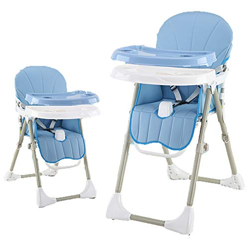 Great Features Of Adjustable, Folding, Baby High Chair - Baby High Chairs,Double-Dish Plate Design- ...