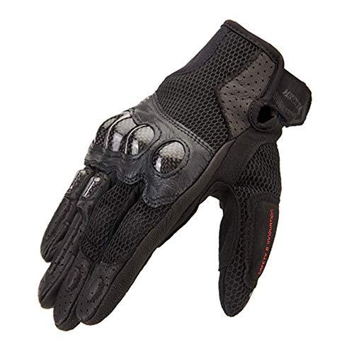 JIAHE115 Mini handschoenen motorhandschoenen, koolstofvezel ademende anti-slip mountainbike rijden beschermende handschoenen, outdoor sport seizoenen universeel, b, XL