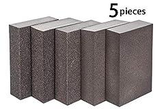 5 PCS Schleifschwamm, grob mittel fein superfein 5