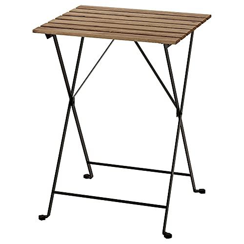 Ikea'tärnö Folding Garden Table in Solid Acacia and Steel