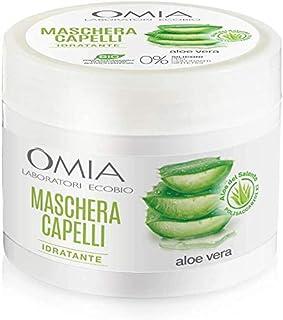 Omia Maschera Capelli Erboristica Aloe Vera, 250ml