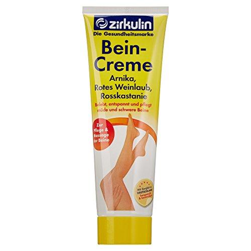 Zirkulin Naturheilmittel Bein-Creme mit Arnika, 125ml