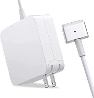 Mac Book Pro Charger, AC 85w Power Adapter Magnetic 2 T-Tip Adapter Charger Connector, Superior Heat Control, MacBook Pro ...