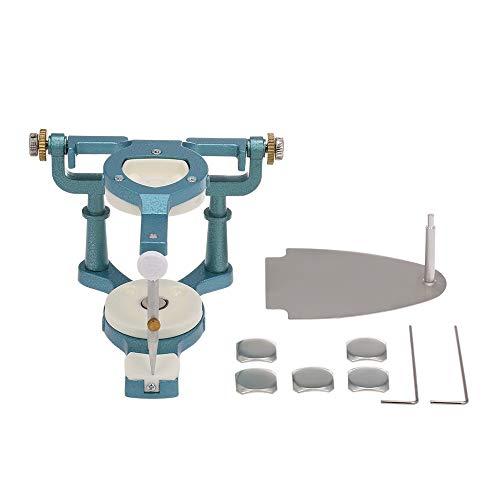 zroven Equipo de laboratorio dental Articuladores Dentadura ajustable Magnetic Anatomic Articulator