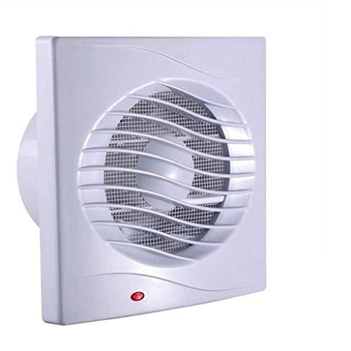 LANDUA Montado en la Pared de ventilación del Ventilador, Cuadrado Blanco Extintor, 12W, for el baño de Techo Ventilador de ventilación