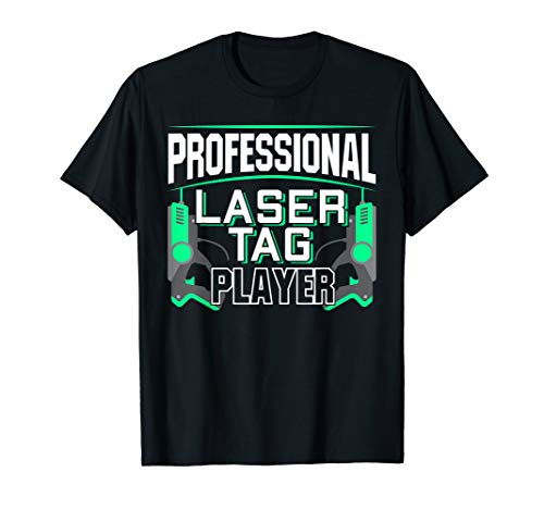 Professional Laser Tag Player | Paintball Lasertag T-Shirt
