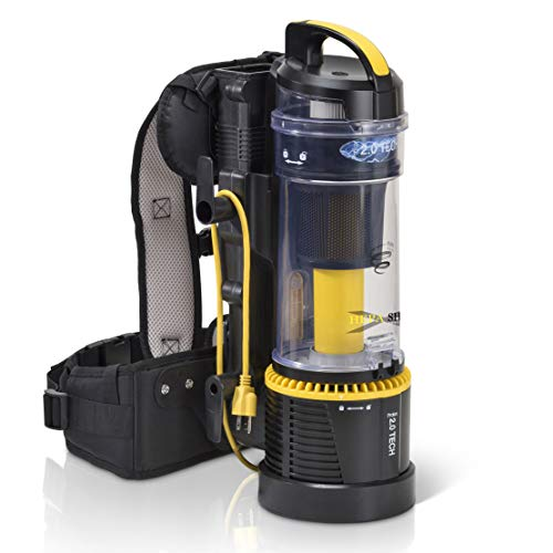 Prolux 2.0 Lightweight Commercial Bagless Backpack Vacuum Cleaner w/ Dual HEPA Shield Filtration