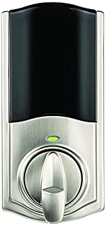 Kwikset Convert Smart Lock Conversion Kit (Amazon Key Edition – Amazon Cloud Cam required), Compatible with Alexa in Satin Nickel