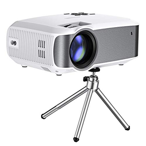 Mini Projector, Mpow Portable Projector Multimedia Home Theater With USB SD HDMI VGA LED Projecteur 1080p HD Home Theatre LCD...