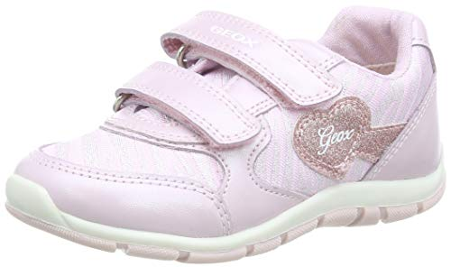 Geox B Shaax A, Sneakers Base Bimba, Rosa (Pink C8004), 22 EU