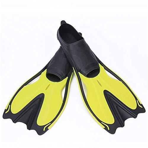 iDWF New Aletas de natación for Adultos Snorkel Aletas pie Kids Buceo...