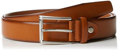 MLT Belts & Accessoires Herren Business-Gürtel London, Braun (Light Cognac 6600), 105