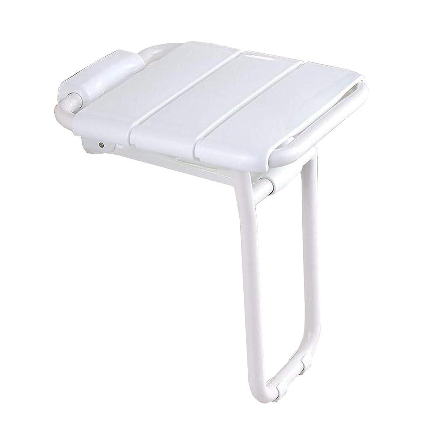 スピーチホップブルーベルHUIHUI トイレ用品 - 浴室折りたたみ壁掛け席エントランス回廊交換スツールバスルームのシャワーチェア障害/妊婦/高齢者の滑り止めマックス。130キロ滑り止めシャワーシートスツール