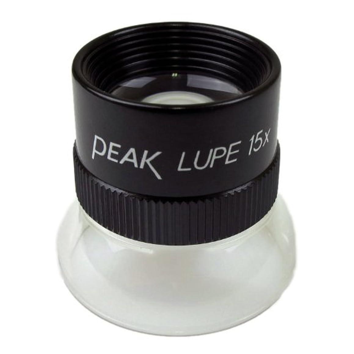 PEAK TS1962 Fixed Focus Loupe, 15X Magnification, 0.75