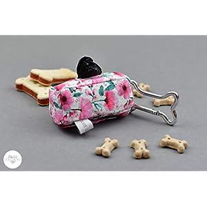 Hundekotbeutelspender – Blumentraum