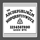 10 X 12 inch Stencil Template Ouija/Spirit/Ghost Board w/Triquetra Witch/Pagan/Wiccan/Spirit