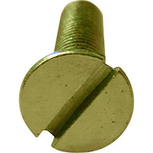 TOOLCRAFT M2*6 D963-4.8:A2K 194819 Senkschrauben M2 6 mm Schlitz DIN 963 Stahl verzinkt 100 St.