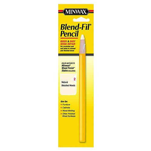 Minwax 11002 Number-2 Blend-Fil Wood Repair Stain Pencil, Natural Bleached Wood