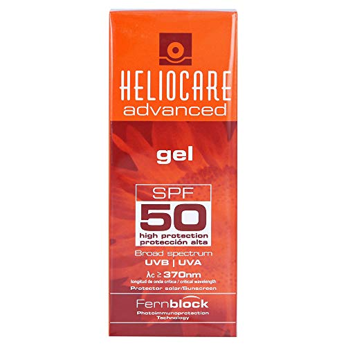 Heliocare Advanced Gel SPF 50 - Crema Solar Facial, Textura