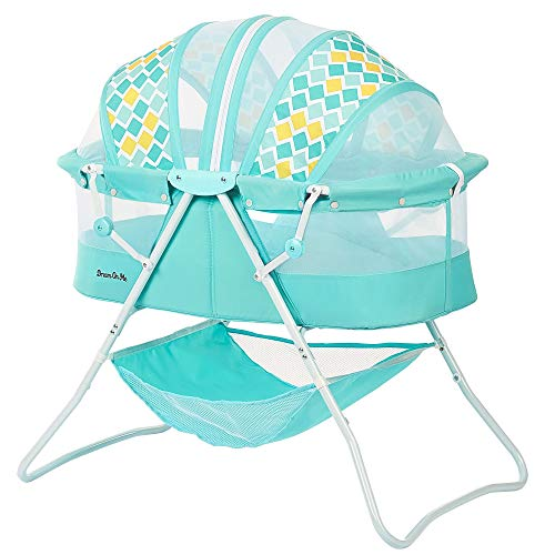Dream On Me, Karley Bassinet, Aqua Blue