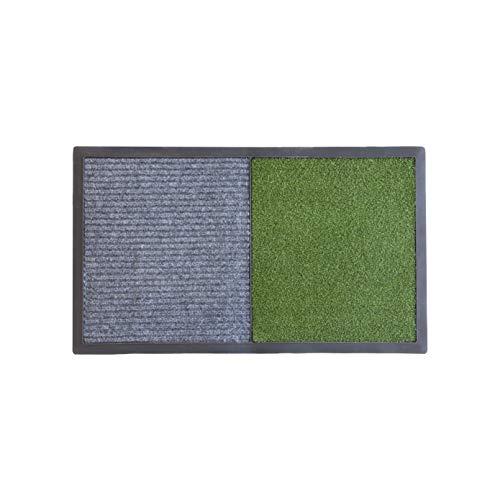 koko doormats felpudos Entrada casa, alfombras desinfectantes Zapatos para Entrada de hogar, Negocios u oficinas, con Dos Secciones - una para desinfectar y Otra para secar Las Suelas, 49x82x0.8 cm