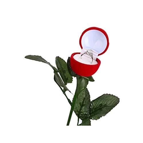 GYDSSH Caja de joyería, diseño Creativo, único, con un Ambiente romántico, Utilizado Especialmente for Poner Anillos