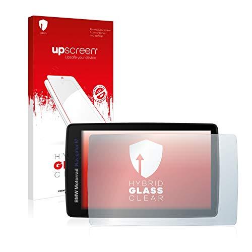 upscreen Protector Pantalla Cristal Templado Compatible con BMW Motorrad Navigator Vi Hybrid Glass - 9H Dureza