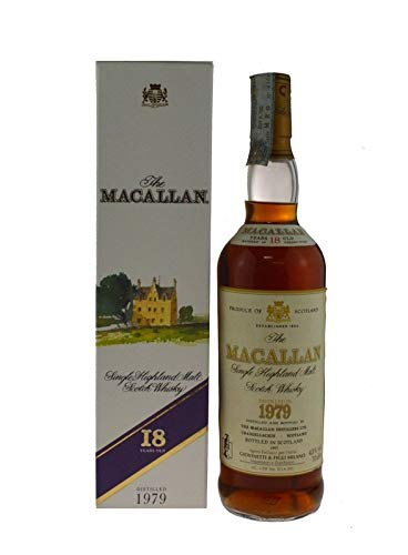 1979 Macallan 18 years Sherry Cask (bottled in 1997)