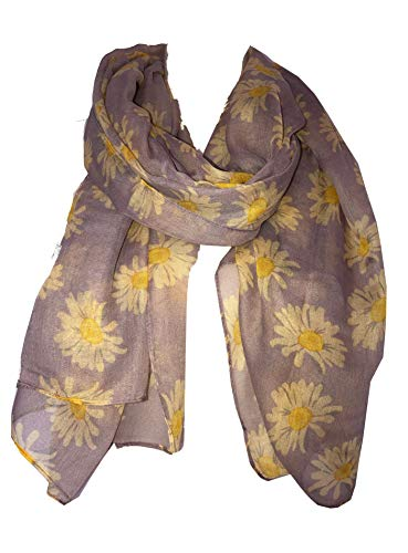 Pamper Yourself Now Lila Daisy schönen weichen Schal (Lilac daisy scarf Lovely soft scarf)