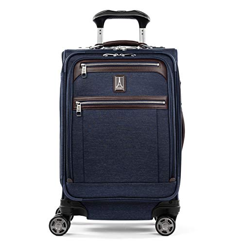 Travelpro Platinum Elite-Softside Expandable Spinner Wheel Luggage, True Navy, Carry-On 20-Inch