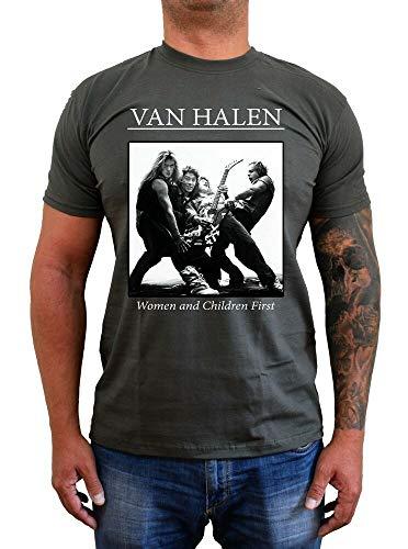 Van Halen Women and Children First Band Album T-shirt, S to 5XL
