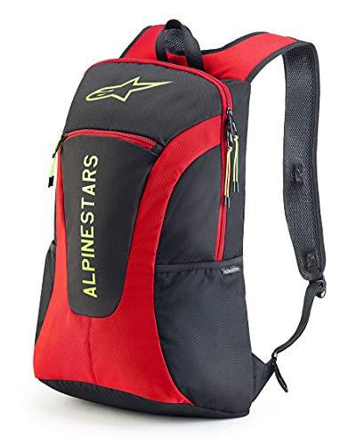 Alpinestars zaino da viaggio da uomo Bags, Uomo, Gfx Backpack Black/Red/Hi Vis Yellow, Taglia Unica
