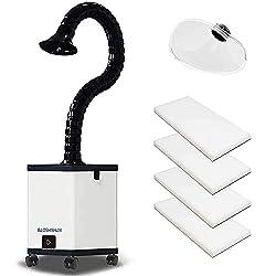 cheap BAOSHISHAN Smoke Extractor Fan Smoke Absorber HEPA Filter Double Holding Capacity…