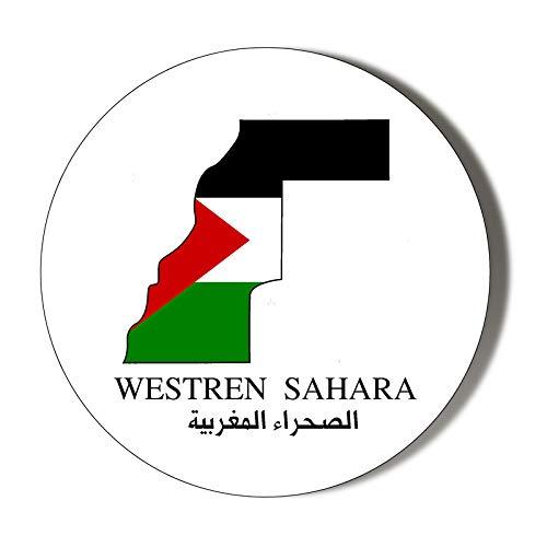 Magnetischer Flaschenöffner mit Westsahara-Flagge, 58 mm