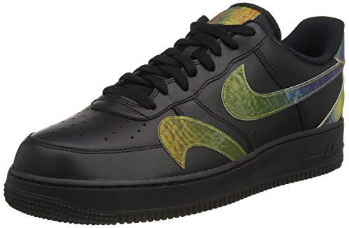 Nike AIR FORCE 1 '07 LV8 2, Men's Basketball Shoe, Black Multi Color Black, 9 UK (44 EU)