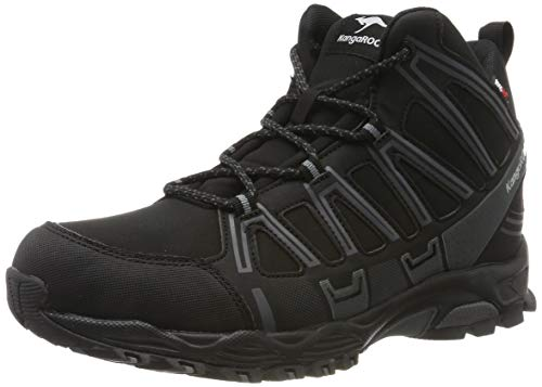 KangaROOS Herren K-Hike Mid RTX Cross-Trainer, Schwarz (Jet Black/Steel Grey 5003), 41 EU