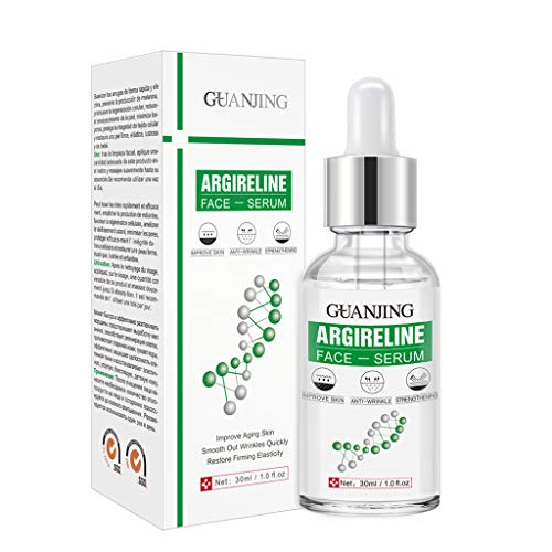 planuuik 30M-L Sechs Peptide Serum Argireline Kollagen Flüssige Anti-Aging-Essenz Hautpflege