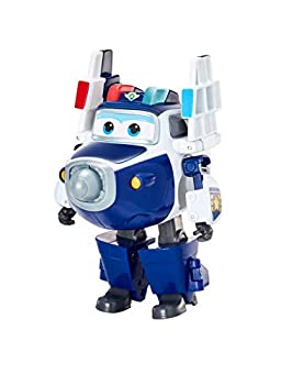 Super Wings EU740303 Transforming Character Supercharged Paul 5  Figure