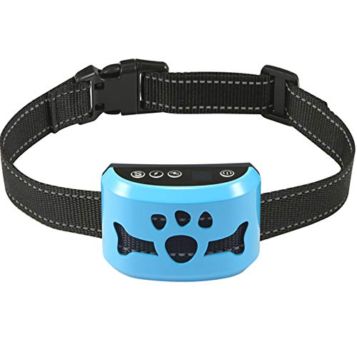Bark Collar for Dogs,Rechargeable Anti Barking Training Collar with 7 Adjustable Sensitivity and...