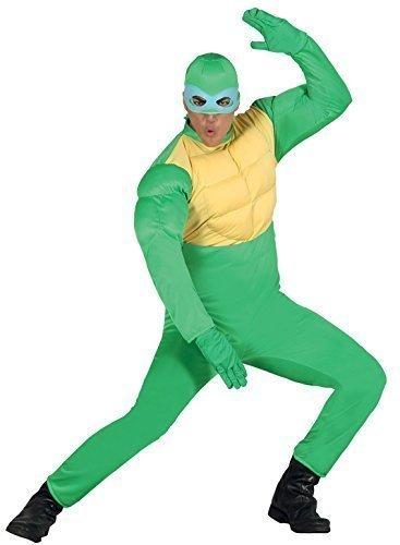 Hombre Mujer Verde Tortugas Ninja superhéroe Animal Disfraz de ...