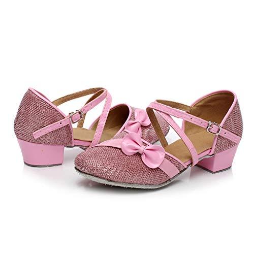 Latin Schuhe Babys, Prinzessin Sandalen für Mädchen, Kleinkind-Tanzen-Ballsaal-Tango-einzelne Schuhe, Kinder Wanderschuhe