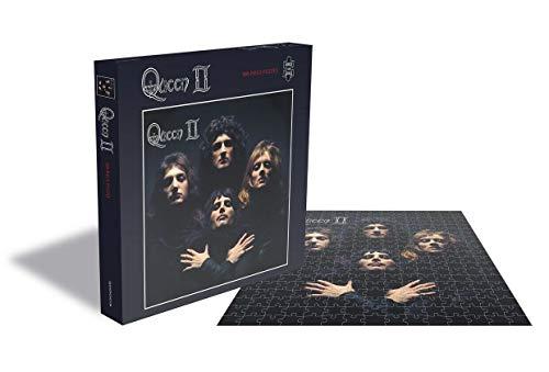 "Rock Saws Queen ""Queen II "" Albumcover Illustration Merchandise 500 Teile Puzzle"