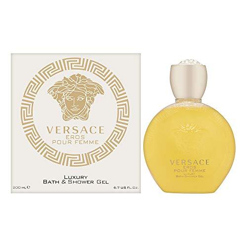 Versace Eros Pour Femme Duschgel, 1er Pack (1 x 200 ml)