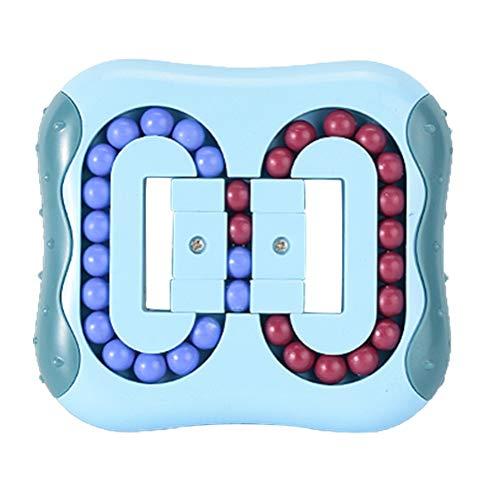 taianle Magic Bean Rotating Toy - Intelligence Fingertip Zauberwürfel Lernspielzeug,Brain Teaser Puzzles Set Stressabbau Spielzeug, Für Kinder Und Erwachsene Plastic Lock Toy