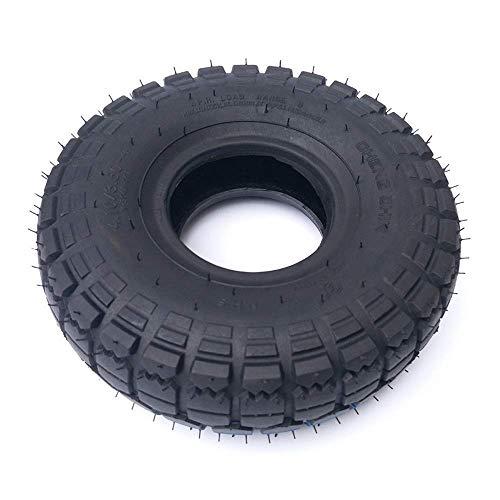 Neumáticos de Scooter eléctrico, 4.10/3.50-4 Neumáticos internos y externos, adecuados para Scooters eléctricos de 10 Pulgadas, reemplazo de neumático de Scooter de 3 Ruedas y 4 Ruedas
