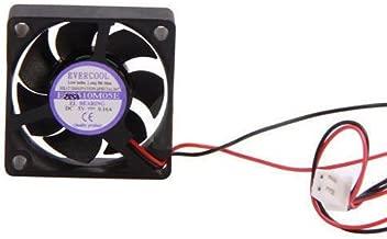 Evercool 35mm x 10mm 5 Volt EL Bearing Fan w/2 Pin 7mm Connector EC3510M05E