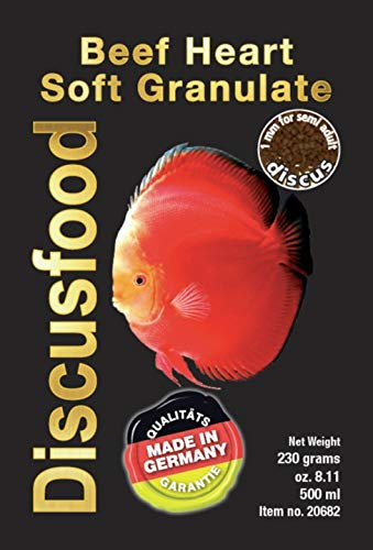 Discusfood Comida Gránulo Peces Disco - Beef Heart XL 230g